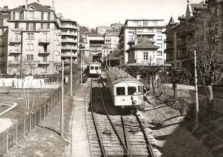 Funiculaire Lausanne Ouchy Flon